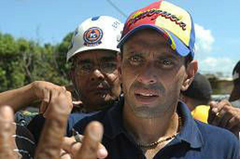 Capriles asegura que el gobierno central obstaculiza su gestión en la gobernación de Miranda