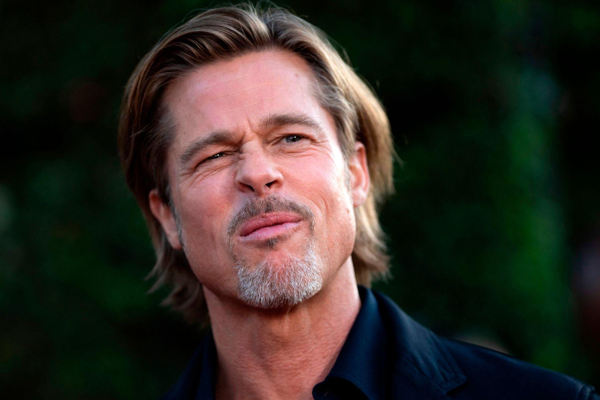 ¿Y ese gesto? Brad Pitt demostró, una vez más, que el paso del tiempo no lo afecta, pero no se privó de hacer muecas durante el estreno de su más reciente film, Ad Astra