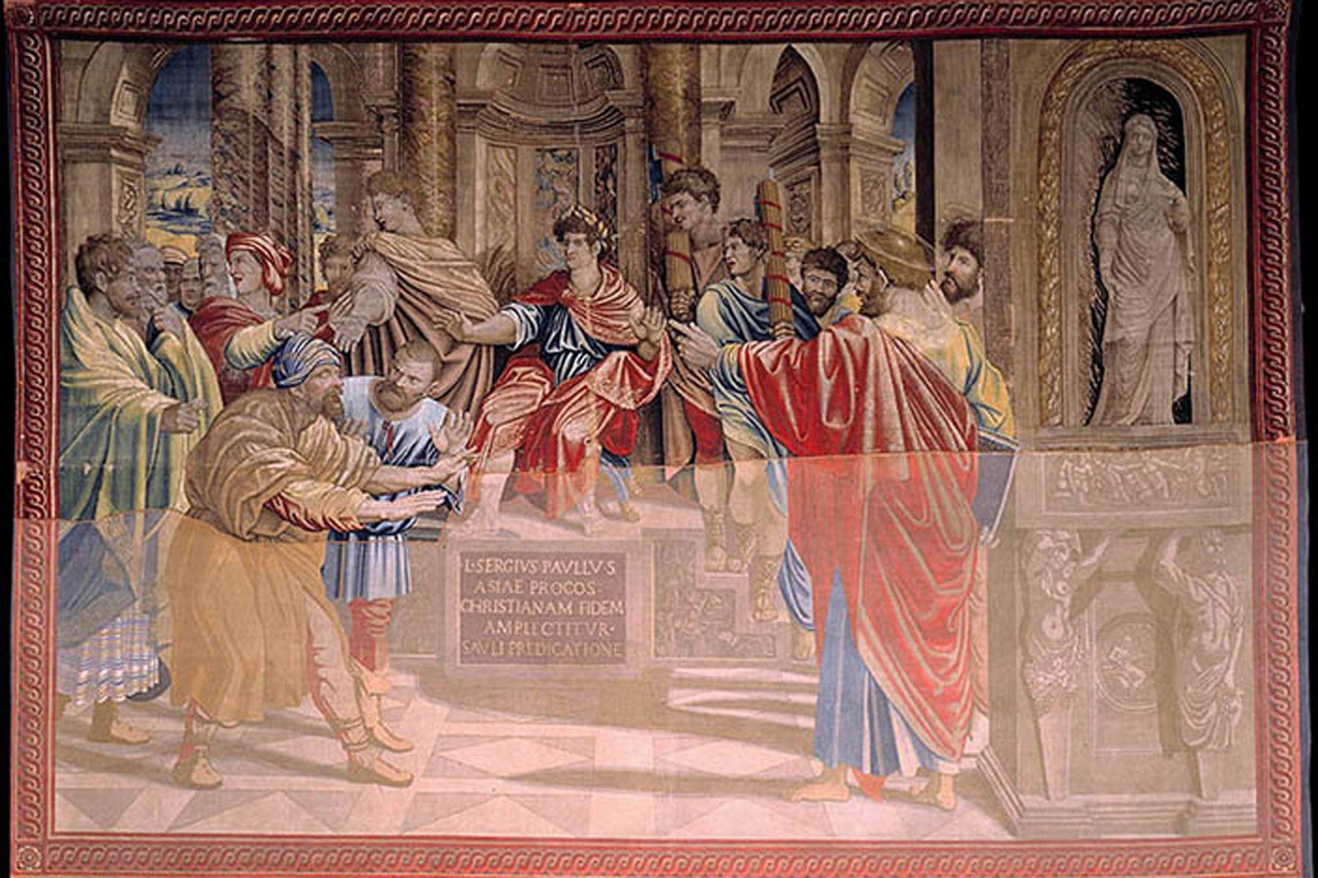 Así, la Capilla Sixtina quedará vestida de gala con lo que fue su idea original y que el propio Rafael no llegó a ver nunca ya que murió cuando los últimos tres tapices no habían sido emplazados aún.