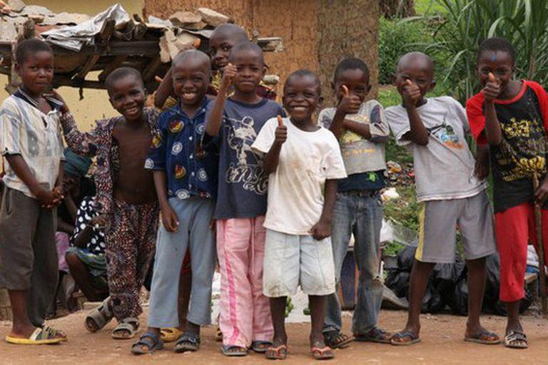 Los niños de Gueckedou han padecido el ébola en carne propia