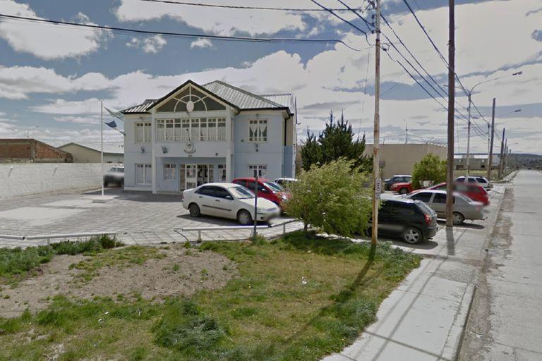 La comisaría 6a. de Río Gallegos, donde el enfermero Sebastián Barrientos dijo haber sido golpeado por la policía de Santa Cruz tras ser detenido en un operativo de tránsito