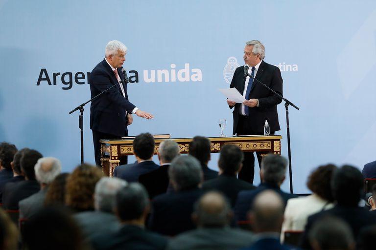 El mensaje de Domínguez al campo tras asumir como ministro