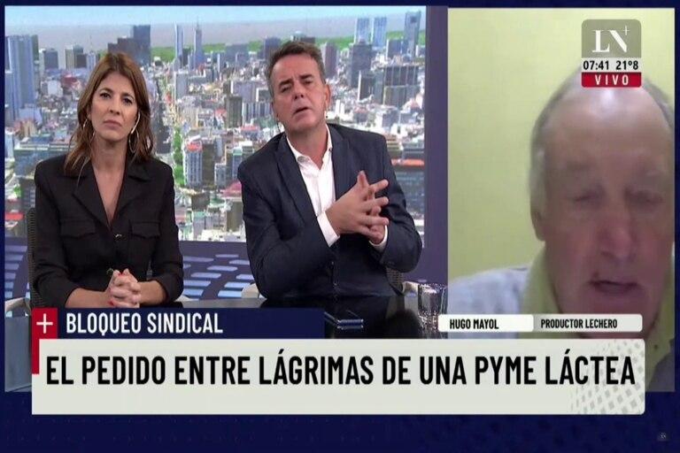 Hugo Mayol habló con +Mañana sobre la situación tras el bloqueo de la semana pasada en su planta de Gobernador Udaondo