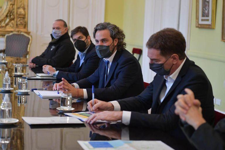 Reunión en la Casa Rosada por las nuevas restricciones