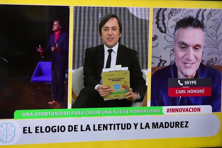 Carl Honoré, entrevistado por José del Rio