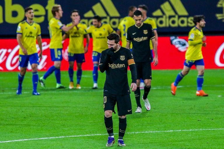 Las sonrisas no abundan en Barcelona
