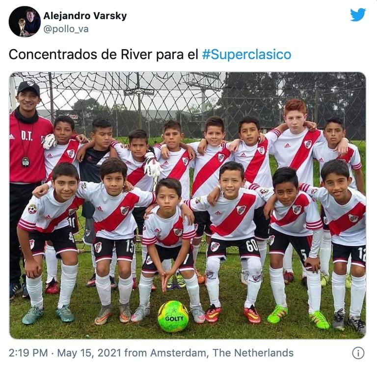 Los mejores memes por la formación de River Plate ante Boca Juniors