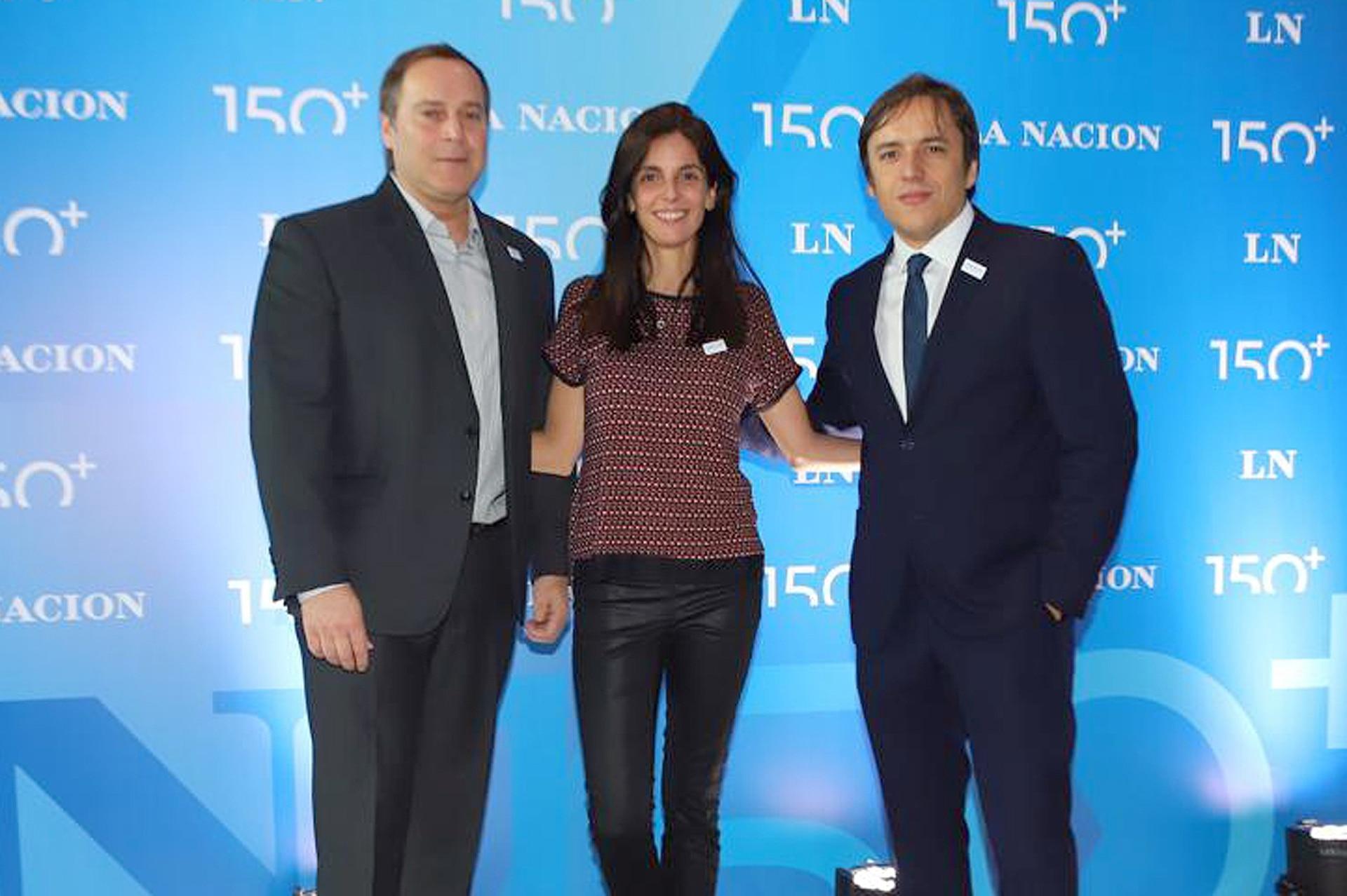 Ricardo Caló, vicepresidente para Sudamérica de Marriott, junto a Maria José Gutiérrez, directora de Relaciones Institucionales y José del Rio