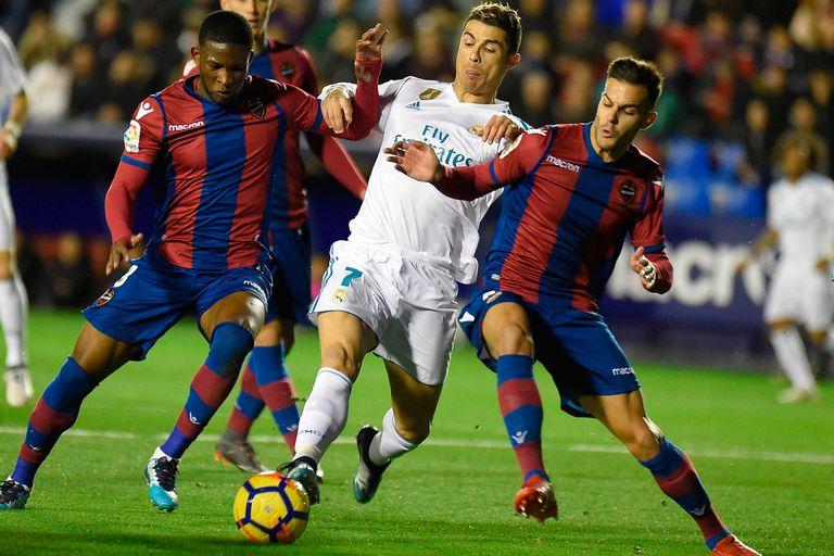 Cristiano Ronaldo en acción