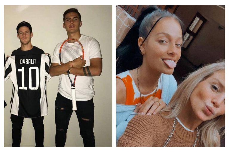 El Peque y su novia visitaron a Dybala y Oriana