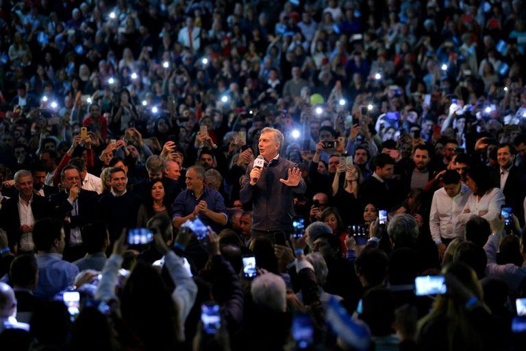 Macri en campaña