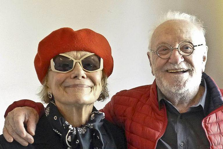 Marilú Marini y Pepe Soriano, protagonistas de la película Nocturna, escrita y dirigida por Gonzalo Calzada
