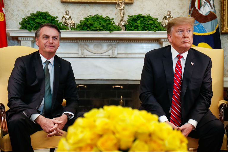 Aliados especiales: Bolsonaro visita a Trump para afinar su relación
