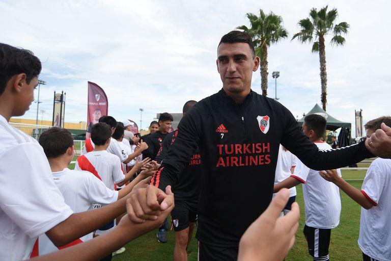 Matías Suárez, un titular indiscutido en la actualidad para Gallardo