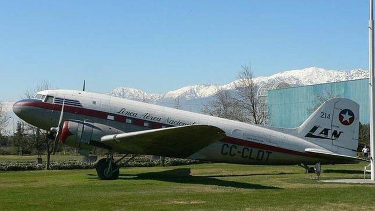 Un Douglas DC3 tal como el que cayó hace sesenta años