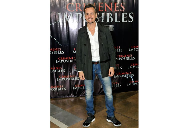 Christian Sancho también dijo presente en el avant premiere de la nueva película de Federico Bal