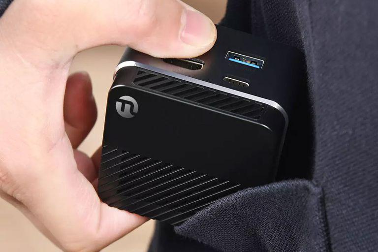 Mini PC de bolsillo: así es Ningmei, la computadora ultracompacta de Xiaomi