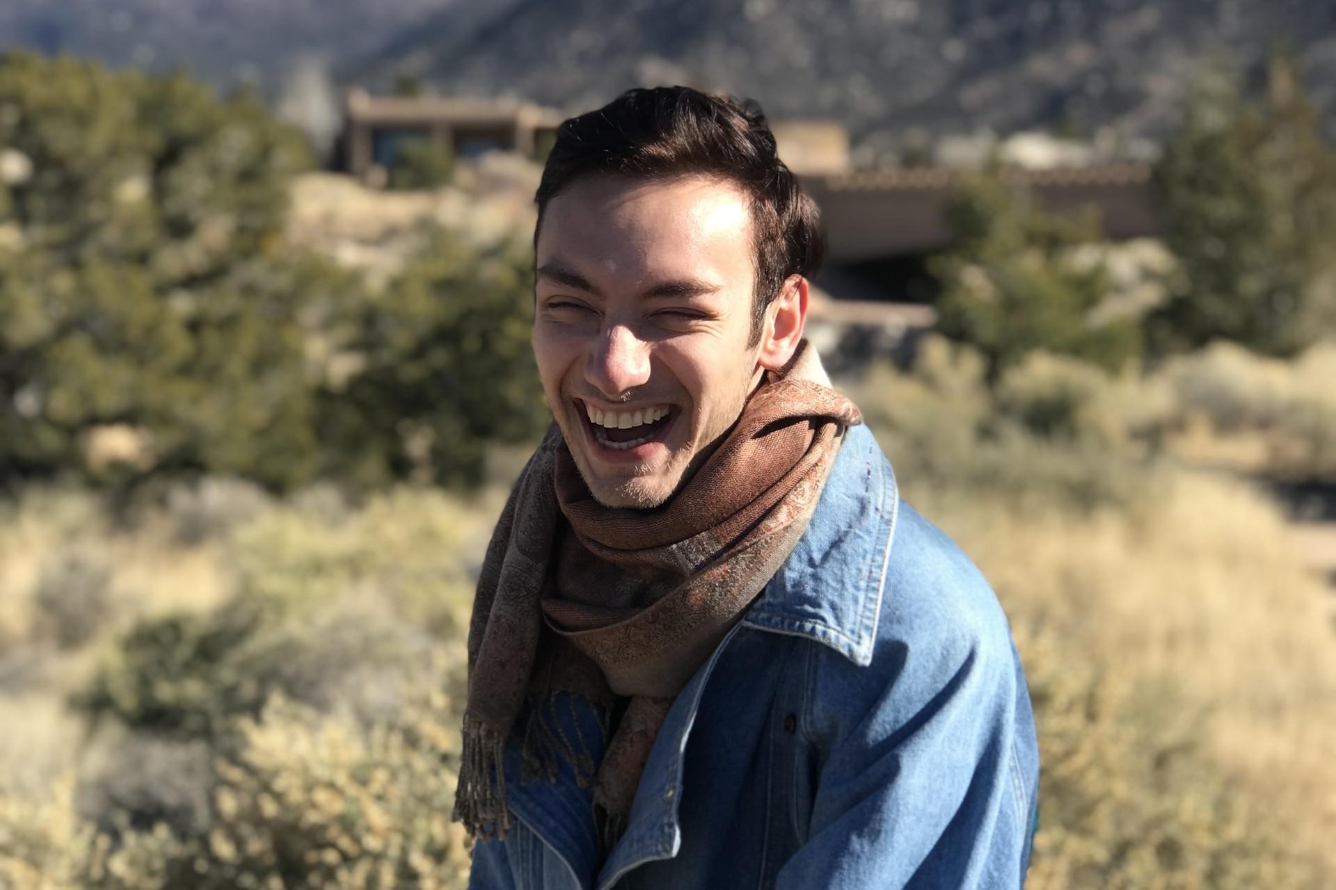 Aaron en Nuevo México