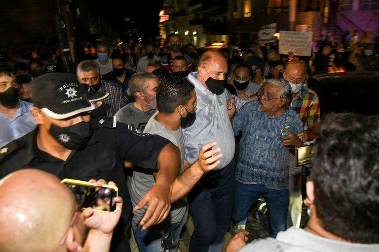Tras los incidentes en la marcha desplazaron al jefe de la policía de Rosario