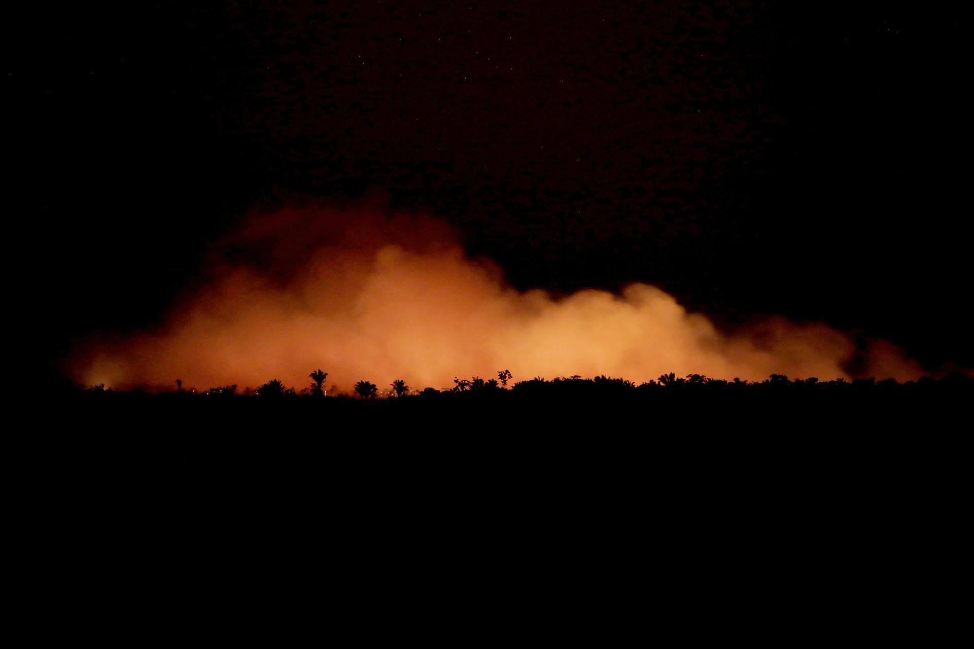 Se agrava la situación por los incendios en la Amazonia