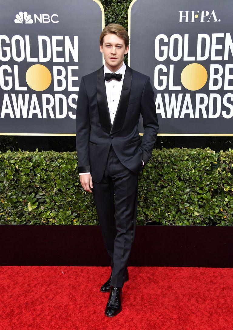 Joe Alwyn, el novio de Taylor Swift, en la red carpet