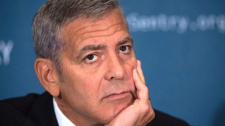 George Clooney, un hombre muy cercano a Harvey Weinstein, rompió el silencio