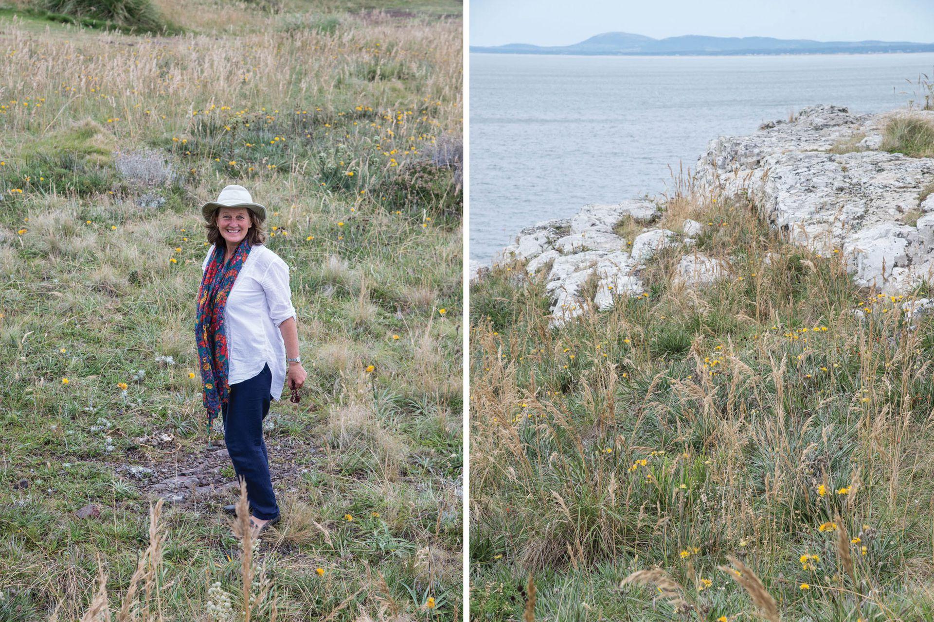 Jeanine Beare comenzó su emprendimiento de venta de semillas a partir de los paseos y caminatas que realizaba al campo y la costa uruguaya.