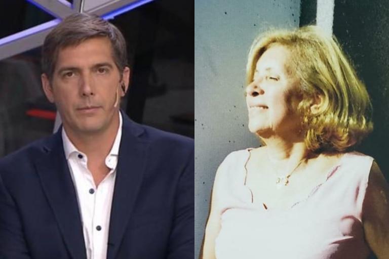 El periodista Franco Mercuriali se despidió de su suegra con un desgarrador mensaje en las redes sociales