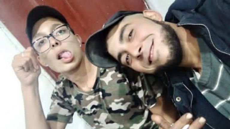 Kevin y Franco Álvarez fueron asesinados a comienzos de mes. Este domingo sus cuerpos fueron encontrados en una laguna de la comuna de Maipú.