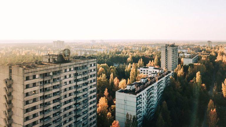 Pripyat era el hogar de 50.000 personas antes del accidente
