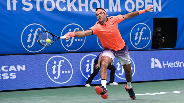 Del Potro logró un triunfo que alienta la esperanza para la serie decisiva de la Copa Davis