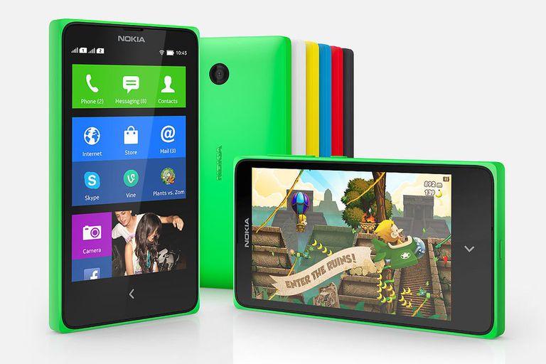 Los Nokia X tienen una versión modificada de Android 4.2