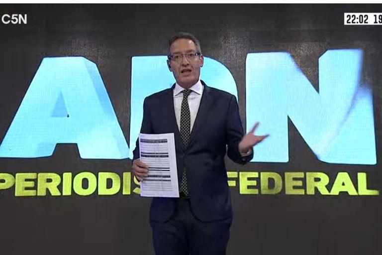 El periodista de C5N Tomás Méndez fue despedido de la señal tras organizar una protesta frente a la casa de Patricia Bullrich