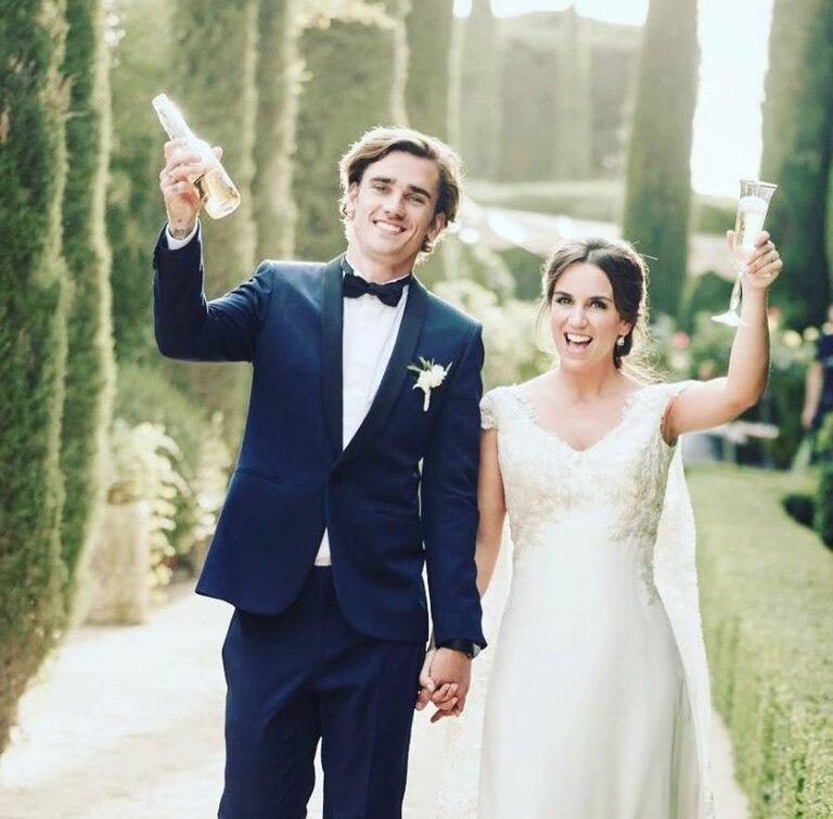 Antoine y Erika se casaron en Toledo, en mayo de 2017