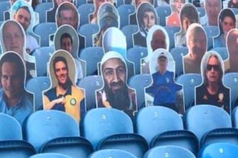 Ben Laden apareció en la tribuna del Leeds de Bielsa y hay revuelo en Inglaterra