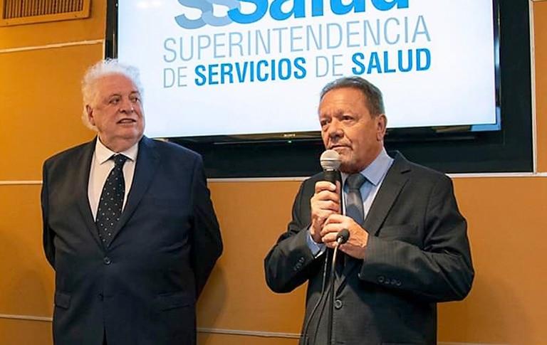 Ginés González García y Eugenio Zanarini, el funcionario de Salud que administra los recursos de las obras sociales
