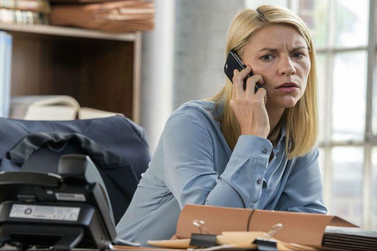 Claire Danes es Carrie Mathison, la impertecta heroína de Homeland