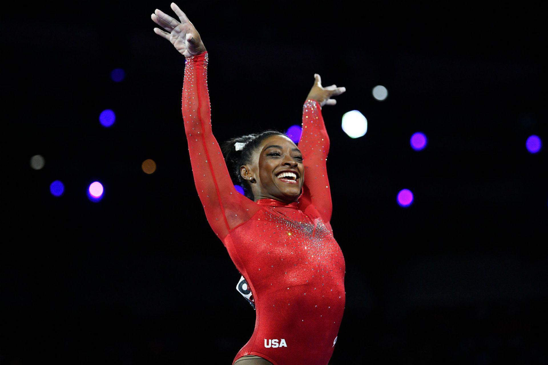 Biles ganó seis medallas de oro durante los Juegos Olímpicos de Río 2016