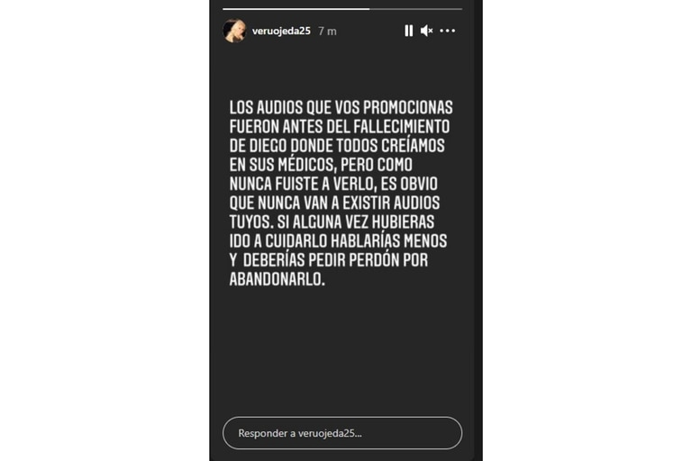 El descargo de Ojeda ante las acusaciones de Dalma Maradona de que apoya al doctor Luque