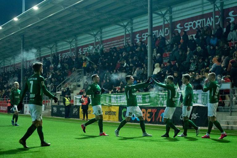 FC Flora, el último campeón de la Liga de Estonia juega su partido el miércoles