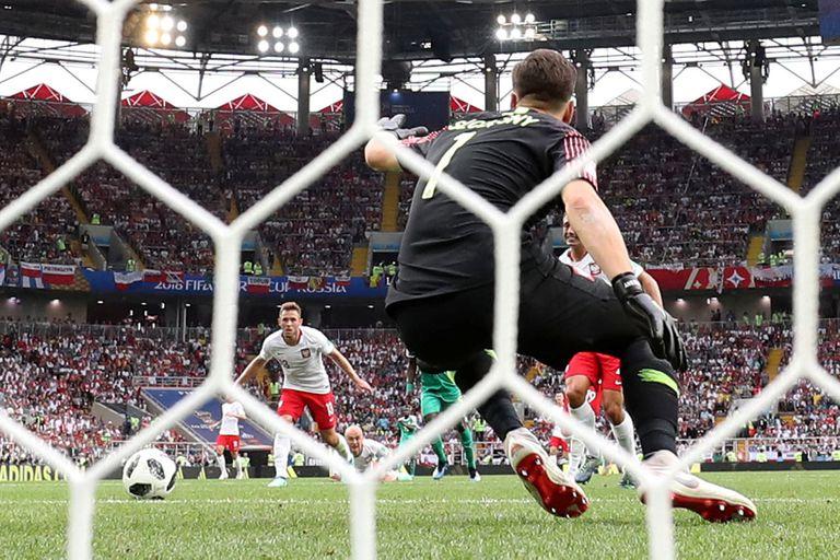 Gol en contra de Polonia