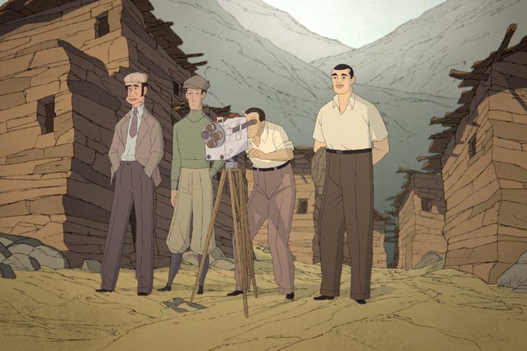 Buñuel en el laberinto de las tortugas, trabajo de animación del español Salvador Simó que se verá en el encuentro de cine europeo