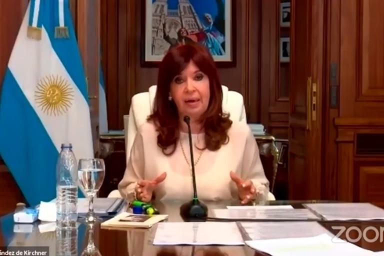 Cristina Kirchner, en la audiencia por dólar futuro