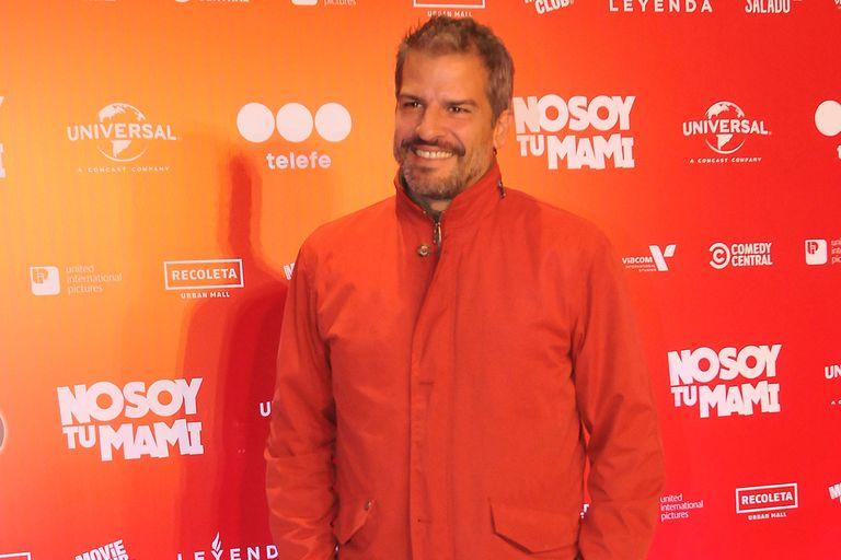 Patricio Giménez fue otro de los famosos invitados a la exclusiva función