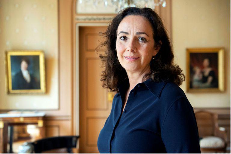 La alcaldesa de Amsterdam Femke Halsema