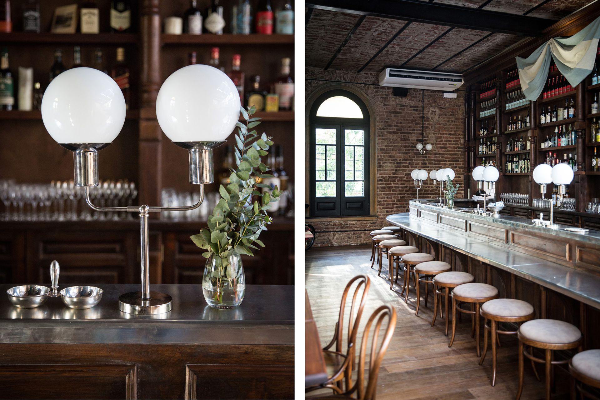 Los diseños antiguos se equilibran con líneas y materiales contemporáneos.