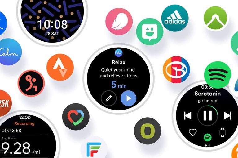 Samsung dio un adelanto de cómo será la nueva interfaz para sus relojes ahora que unió su propia plataforma, Tizen, con Wear OS