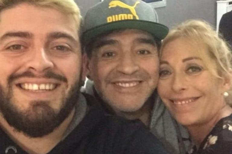Cristina Sinagra despidió a Diego Maradona con un cálido mensaje