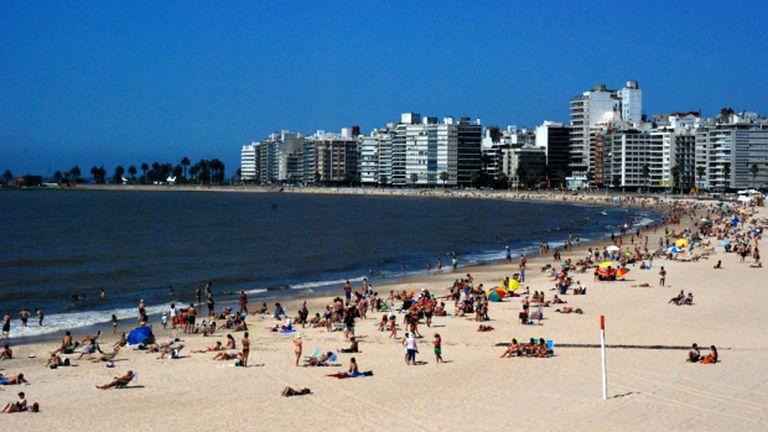 El barrio Pocitos de Montevideo