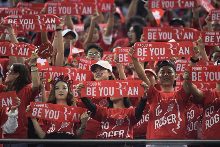Federer juega de local en Shanghai